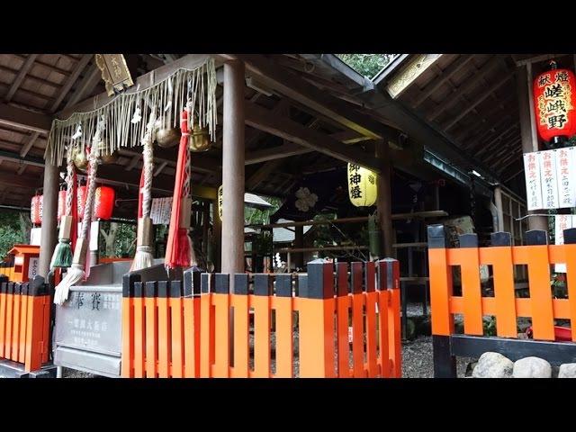 (4K)嵐山・野宮神社 Nonomiya Shrine,Arashiyama Kyoto 2016 - 京都寺社巡り2015