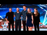 Another Kind Of Blue are a dream come true Week 2 Auditions Britains Got Talent 2016