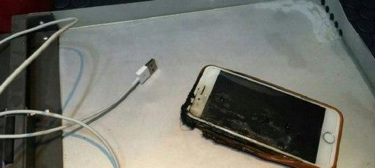 iPhone 6 устроил пожар на борту самолёта (2 фото)  e5d49b458d6b5