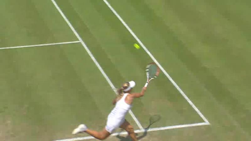 Wimbledon 2009 Round 4 | Elena Dementieva - Elena Vesnina