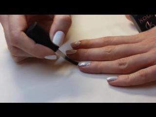 БЫСТРЫЙ Дизайн ногтей. Термо пленка (термо фольга) для ногтей. Голливудский маникюр