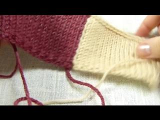 Трикотажный шов. сшивание вязаных деталей крючком без дополнительной нити - invisible knitted seam