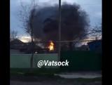 Взрыв 10 тонн сжиженного газа на АЗС в Кизляре
