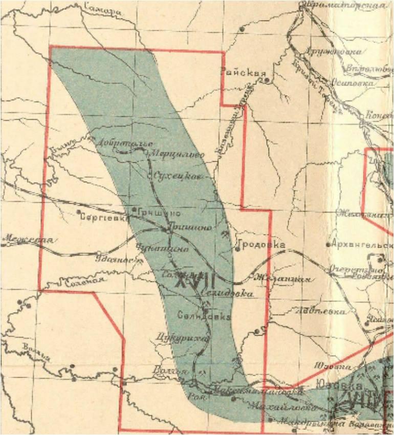Карта 1926 года