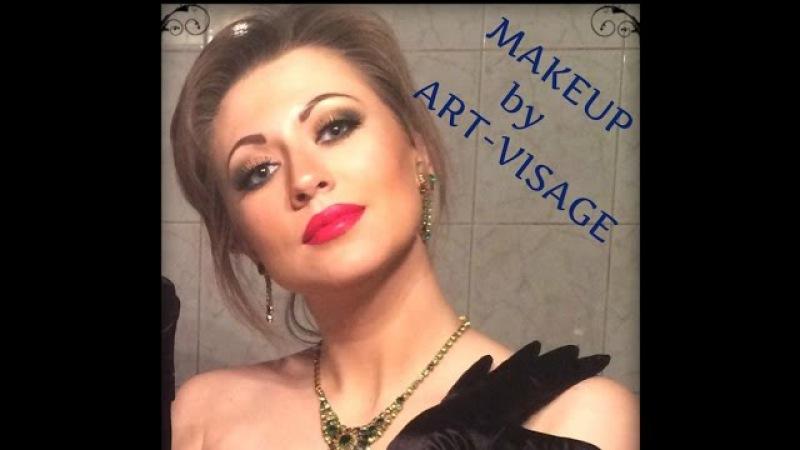 Макияж ТОЛЬКО с косметикой Арт-Визаж / ПОДРОБНЫЙ Тест-Драйв / Makeup tutorial with Art-Visage