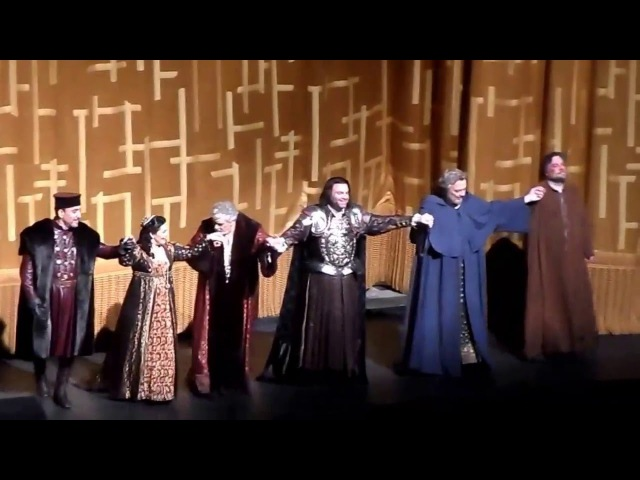 Curtain Call-Simon Boccanegra.James Levine,Plácido Domingo,Ferruccio Furlanetto,Lianna Haroutounian