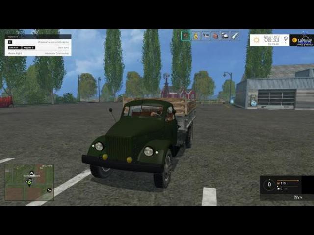 Обзор мода грузовик GAZ 51 v2.0 для FS 15