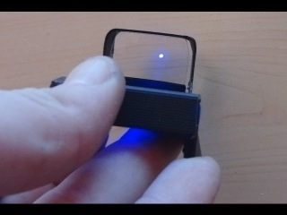 Reflex Dot Sight, made from an old CD case TUTORIAL