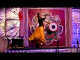 Kathak-fusion. Fire Dance