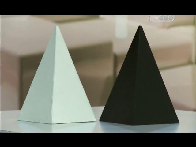 Тест Белая и черная пирамидка . Дети и взрослые. Манипуляция сознанием