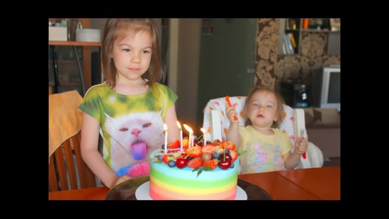 Влог: День Рождения, Настене 5 лет, кукольный дом, диво остров,аттракционы