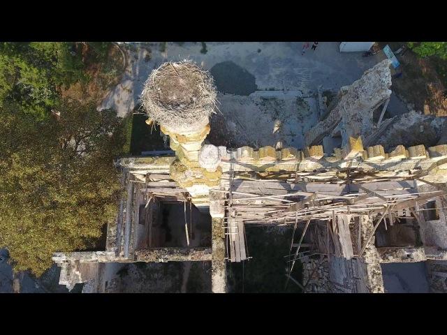 Поместье Куриса в селе Петровка Одесской области с высоты птичьего полета 21 августа 2016