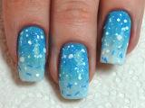 Disney's Frozen Elsa Inspired | Омбре (градиент) на ногтях
