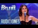 ¡Pase de Oro! La ópera y el rock de Cristina Audiciones 5 Got Talent España 2016