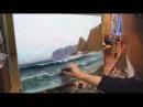 Научиться рисовать море. Уроки живописи маслом для начинающих с нуля Игорь Саха ...