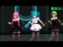 AMV Чёрной кошки нет опасней... Танец Вокалоидов - Аниме клип