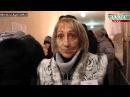 3 ноября 2014. Луганск. Люди готовы стоять до полуночи и в мороз ради будущего  03 11 2014