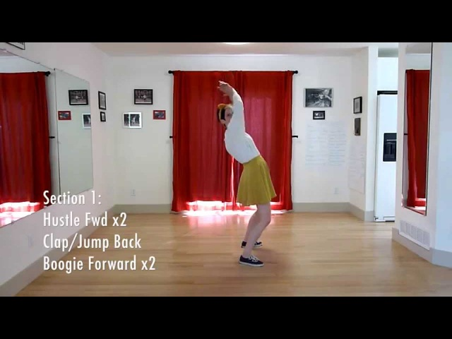Learn The Jitterbug Stroll | Routine Breakdown | Level 4 Lesson 12 | Shauna Marble | Lindy Ladder