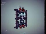 Besiege 0.20 Engine. Паровой двигатель, оппозитный и рядный.