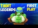 Черепашки-Ниндзя Легенды Обзор новой игры TMNT Legends IOS Gameplay 2016
