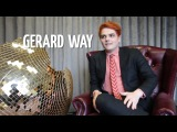 Gerard Way on Britpop, Blur and Arctic Monkeys - Gigwise Interview