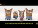 Миньоны гадкий я два песня Банана банана на ба на на с лицами кошек