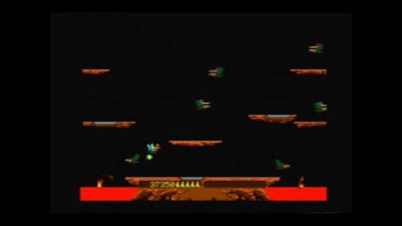 Joust Arcade Gameplay