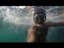 Cъемка под водой на GoPro hero 3+ Россия, Крым, Урочище Аязьма, Инжир