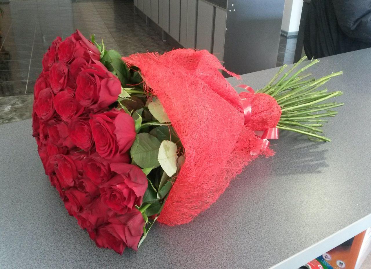 Красивые букеты цветов в домашних условиях 31