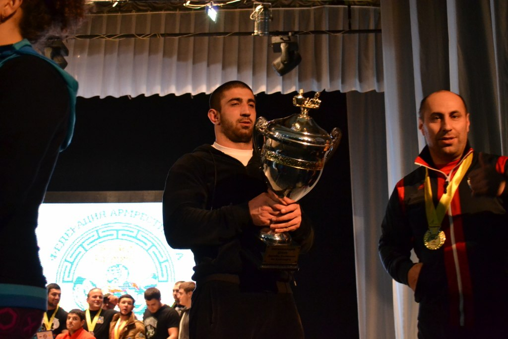 Zaur Khodov - The Overall winner of Friendship Cup Kalmykia 2015