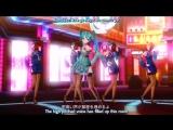 Worlds End Dancehall feat.Hatsune Miku Megurine Luka - Project DIVA F (With Eng Translate)