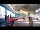 Награждение финалисток на гимнастике 27.12.15