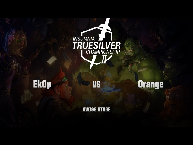 [RU] Ek0p vs Orange | Insomnia57 - Truesilver Championship | Swiss Stage