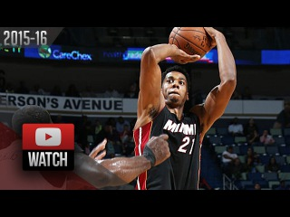 Hassan Whiteside Full Highlights at Pelicans (2016.03.22) - 24 Pts, 14 Reb, BEAST!