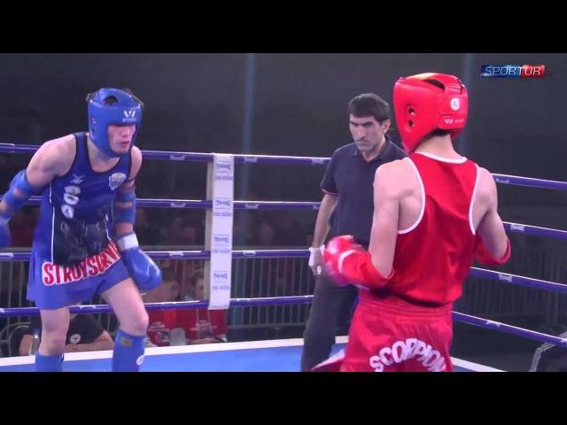 Шариф Мазориев vs. Абуев Эльдар (Москва) | Мастерская тайского бокса