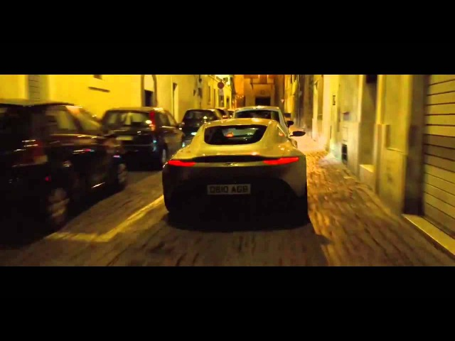 007 Spectre- Car Chase Scene