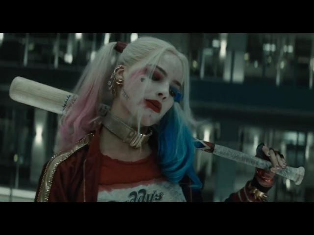 Suicide Squad: Harley Quinn Kicks Ass in Elevator - Margot Robbie