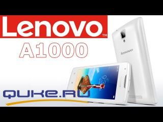 Обзор Lenovo A1000 ◄ Quke.ru ►