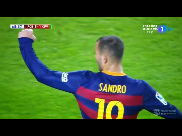Barcelona Vs Villanovense 6-1 All Goals Highlights 2/12/2015 HD