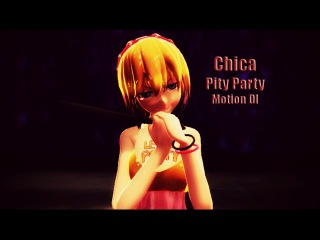 |MMD||FNAF| Pity Party (Dl Motion/60 fps/HD)