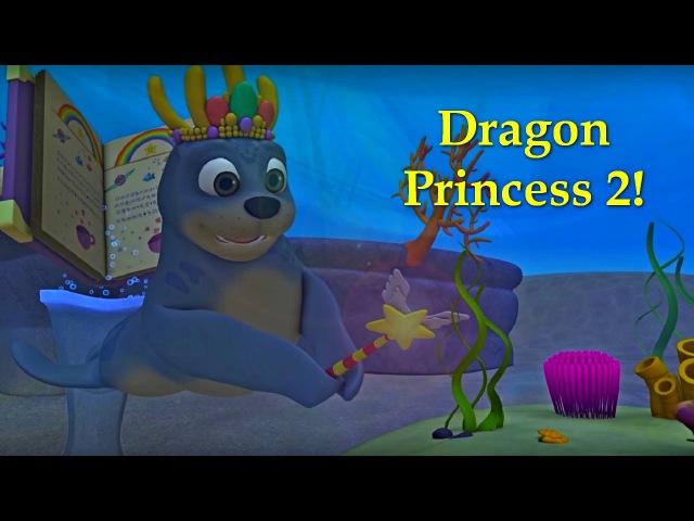 Английский язык для малышей - Мяу-Мяу - Принцесса драконов 2 (Dragon Princess 2 ) - учим английский