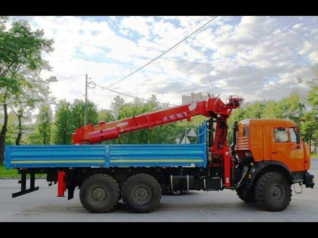 КАМАЗ-43118-HOTOMI-2656 – бурильно-крановая машина КАМАЗ (BUER LS, БУЕР ЛС)