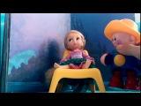 Мультфильм для девочек принцессы Дисней. Дракон похитил прекрасную Рапунцель.