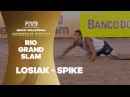 Losiak's spike too quick for Fijalek/Prudel - Rio Grand Slam