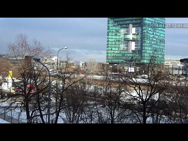 FullHD Видеозапись с IP видеокамеры Polyvision на базе матрицы Sony Exmore IMX122