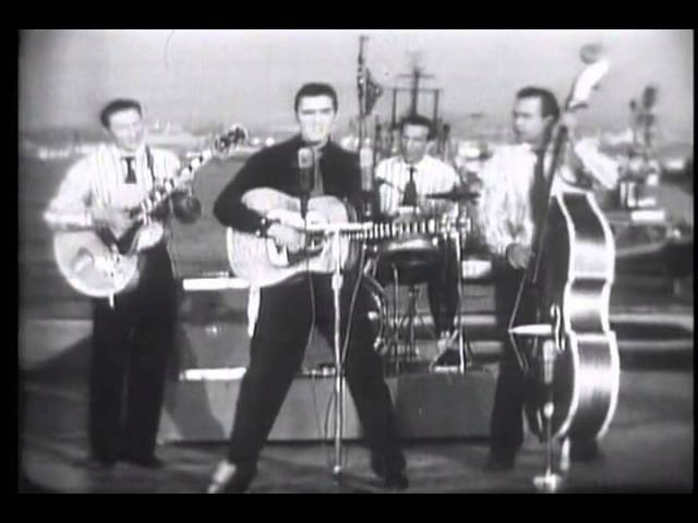 Elvis Presley - Blue suede shoes - 1956