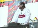 Notorious B.I.G. throws a water bottle at DJ Kap at KMEL Summer Jam 1995