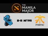 Newbee vs Fnatic #2 (bo3) | The Manila Major, UB, 09.06.16