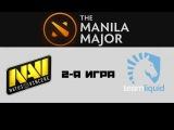 Na'Vi vs Liquid #2 (bo3) | The Manila Major, LB, 10.06.16