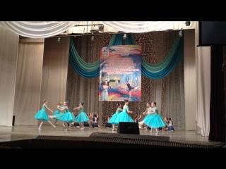мое выступление на конкурсе с танцем Прекрасное далеко
